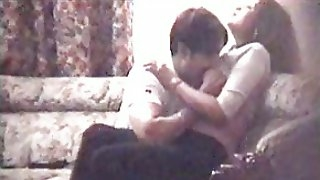 My amatur porn video clip shows a couple fucking