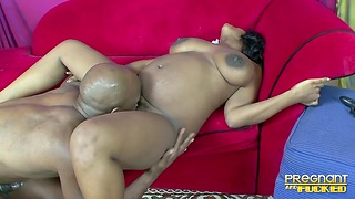 Thick ebony hottie has all the right moves for a black bull
