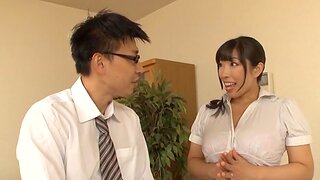 Slutty wife Nozomi Mikimoto gets fucked good by her horny hubby