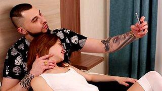 Hardcore teen dicking on transmitted to bed with ravishing Bella Grey